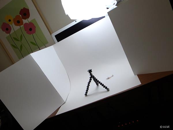自作撮影ボックス