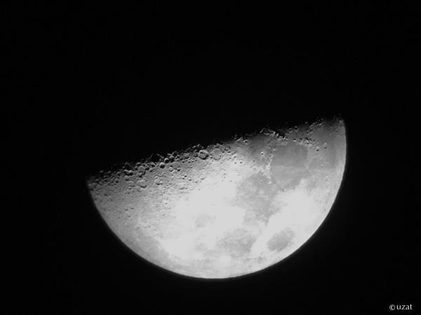 iPhoneで月撮影