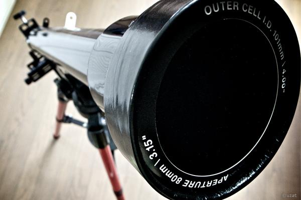 太陽観測用フィルター