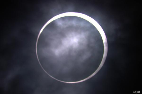金環日食-2