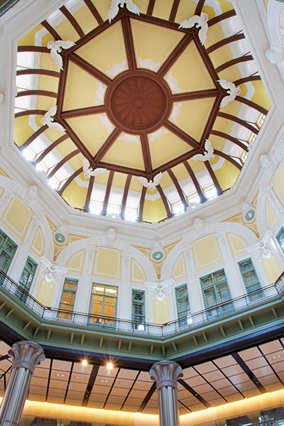 丸の内駅舎ドーム天井