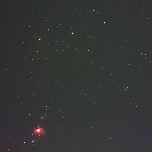 オリオン座 三ツ星